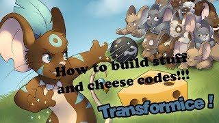 Transformice| How to build stuff and codes for cheese