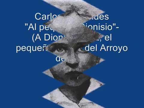 Carlos Benavides Al pequeño Dionisio