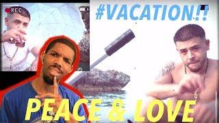 Tropical Reaction Video 🏖 | Peace & Love   Noizy (prod. By BledBeats)