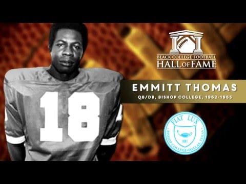 BLACK COLLEGE FOOTBALL HALL OF FAME CLASS OF 2016 ENSHRINEMENT VIDEO: EMMITT THOMAS