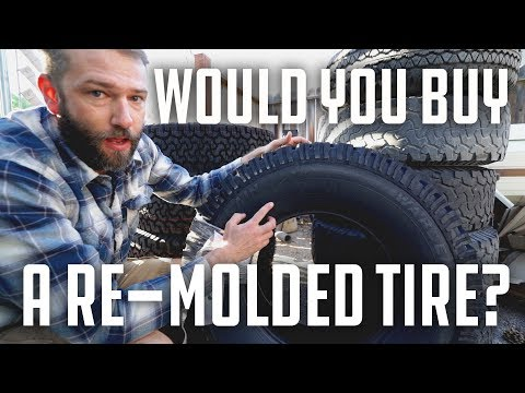 What is a remolded tire? TreadWright Warden