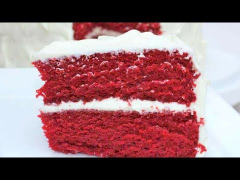 Video Easy, Homemade Red Velvet Cake Recipe - The Best!