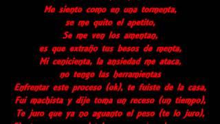 Wisin - Te Extraño (LETRA) (Ft. Franco De Vita)