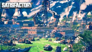 [LIVE🔴] INSANE NEW BASE  MULTIPLAYER BUILDING FACTORY GAME | Satisfactory Gameplay