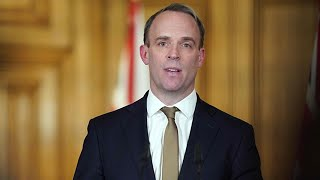 video: Dominic Raab announces £75m for flights to bring stranded Britons home - watch live