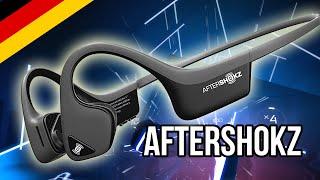 AfterShokz Trekz Air Wireless Bloototh Knochenschall Kopfhörer Nackenbügel Bluetooth Sport Headphone