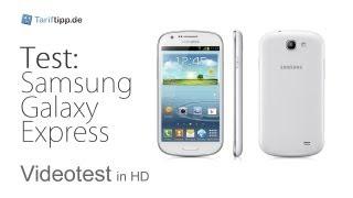 Samsung Galaxy Express | Test in deutsch (HD)