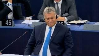 Orban, jesteś śmieciem ! — czyli podwójne standardy Tajaniego