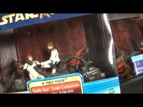 Star Wars Figure Review: Death Star Trash Compactor Playset