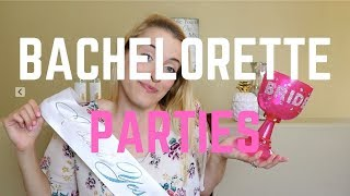 Bachelorette Parties | My Stories, Advice, And Ideas!