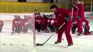 NHL Skills: Flip Shot From Canadian Tire Hockey School