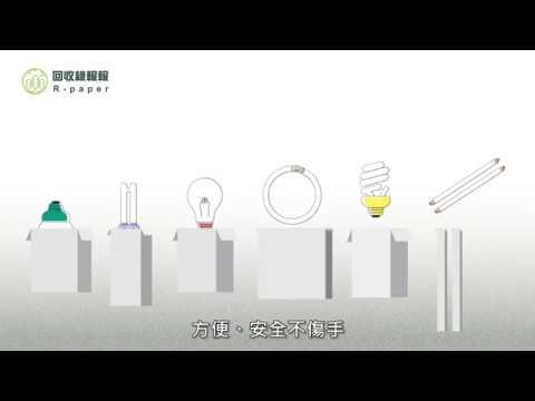 【如何做回收】回收心法:這樣回收燈泡/管最安全