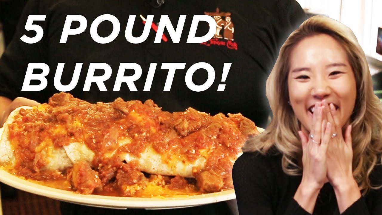 We Tried The 5-Pound Burrito Challenge thumbnail