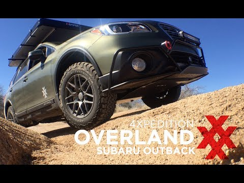 Subaru Outback Overland Build by 4XPEDITION