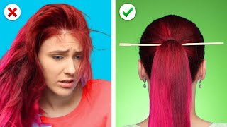 9 Helpful Hair Hacks! DIY Hairstyle Ideas, Tips And Tricks