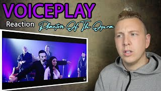 First time reacting to VOICEPLAY The Phantom of the Opera - Rachel Potter (voiceplay reaction)