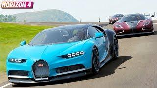 Bugatti Chiron - Forza Horizon 4   Goliath Gameplay
