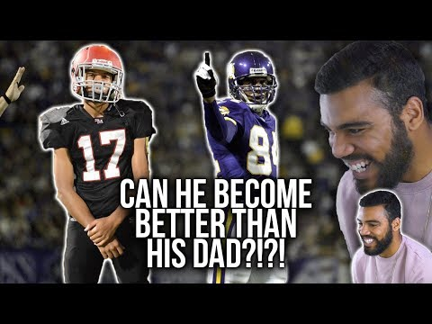 Randy Moss's Youngest Son Is Already BALLING OUT!!!- Montigo Moss Highlights [Reaction]