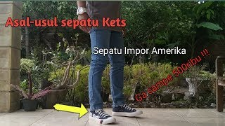 Haul Sepatu Murah✓ Original✓ [bukan] Shopee | Review Sneakers Pro-Keds Royal Logo Hi Rival Converse