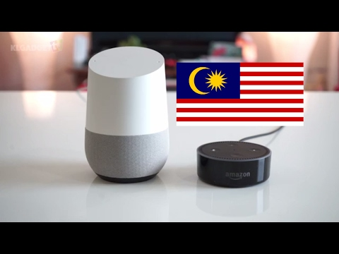 Google Home vs Amazon Echo Dot in Malaysia