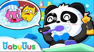 ♬はみがきのうた  ハミガキだいすき  赤ちゃんが喜ぶ歌   子供の歌   童謡    アニメ   動画   BabyBus