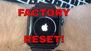 How To Reset Apple Watch