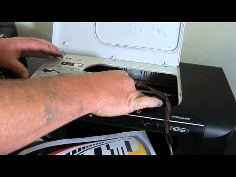 HP Officejet 6000 Ciss continuous ink system install
