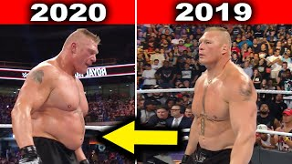 10 Surprising WWE Body Transformations 2020 - Brock Lesnar, John Cena & more