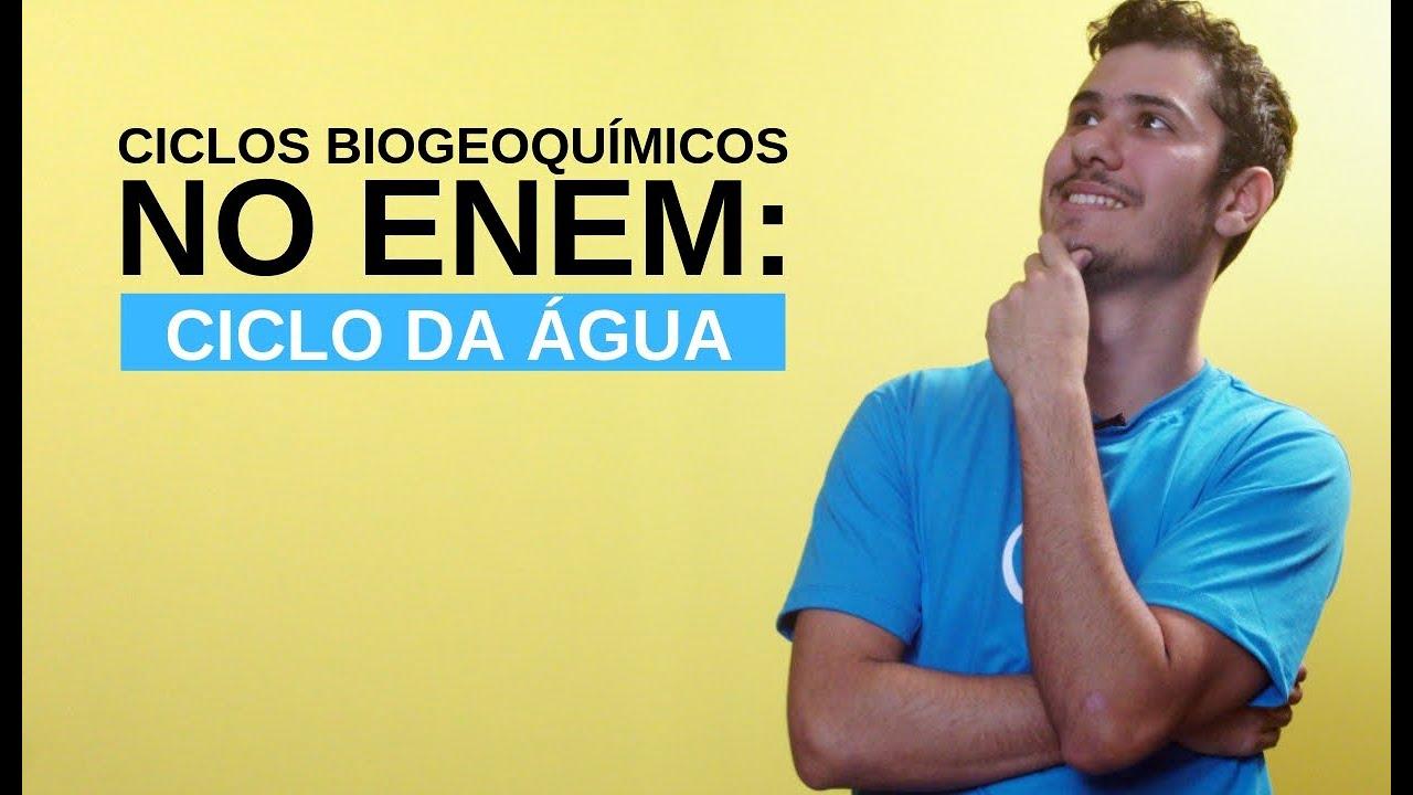 Ciclos Biogeoquímicos no Enem: Ciclo da Água