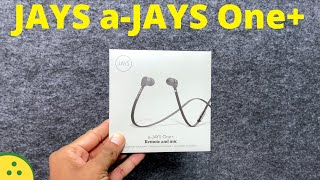a-JAYS One+ earphones Tamil Unboxing and First Impressions