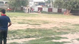 preview picture of video 'Begowala,s Fastest Bowler Fahad Cheema'