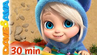 😜 Ava, Ava, - Yes, Mama & More Nursery Rhymes | Baby Songs | Dave and Ava 😜