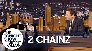 Download Youtube: 2 Chainz's Dog Trappy Falls Asleep in the Middle of His Interview