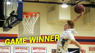 Former D1 Hooper Reacts to NICO MANNION GAME WINNER! 37 POINTS vs SHADOW MOUNTAIN