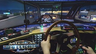 Упоротый конвой через Орегон - American Truck Simulator