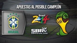 Apuestas Deportivas | Posible Campeón Del Mundial Brasil 2014 | Brasil
