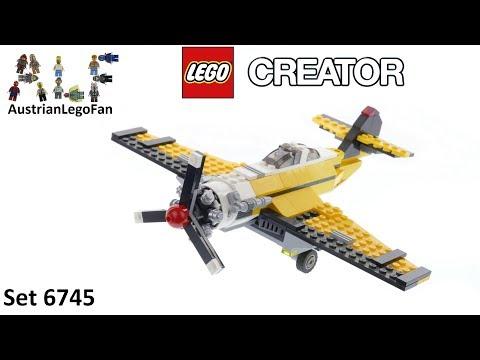 Vidéo LEGO Creator 6745 : L'avion à hélice
