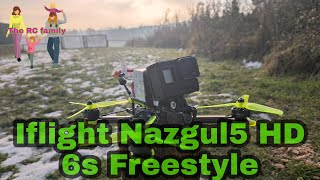 Iflight Nazgul5 HD MK 2 6s Freestyle FPV Practice Drone Quad Flying for Fun
