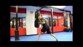 10 Minute Heavy Bag Power Shots Video by NateBowerFitness