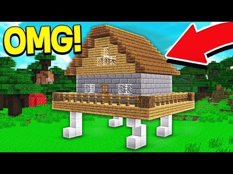 THIS MINECRAFT HOUSE WILL RUN   ? download YouTube video in
