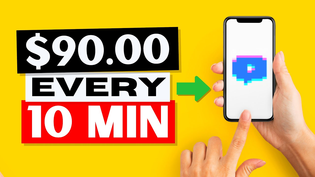 Make FREE PayPal Cash Utilizing ONLY ONE APP! (Earn Money Online 2021) thumbnail