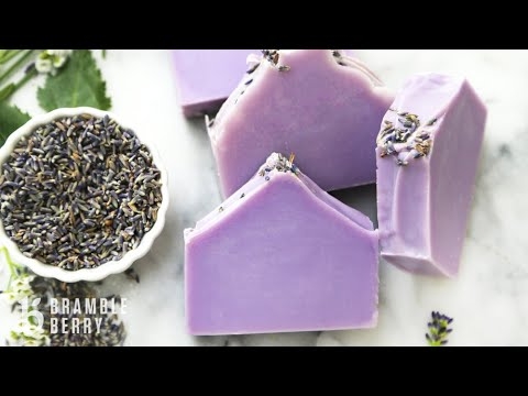 Natural Soap Kit for Beginners - Relaxing Lavender