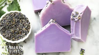 How To Make Natural Lavender Soap - Recipe For Beginners | Bramble Berry