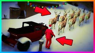 GTA ONLINE CHRISTMAS 2016 UPDATE NEW DLC CARS, GTA 5 SNOW DAYS, GLOWING CLOTHING & MORE! (GTA V)