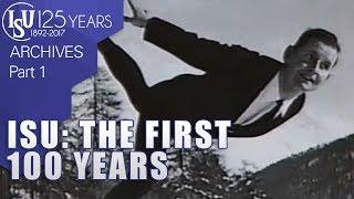 Les 100 premières années de l'International Skating Union (ISU), (Documentaire)