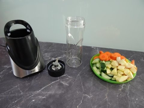 Review+Praxis: AQV Smoothie Maker,Mixer,Cup to Go,300W,22.000r/min