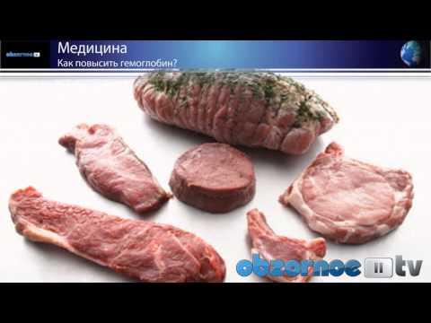 Диета при анемии железодефицитной и других видах