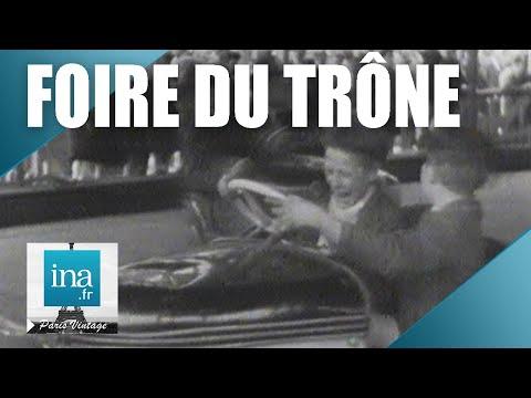 1941 : À la Foire du Trône   Archive INA