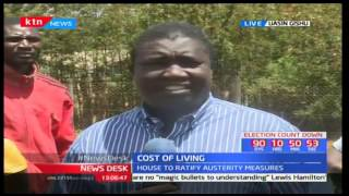 Eldoret residents react to the high cost of living due to food shortage