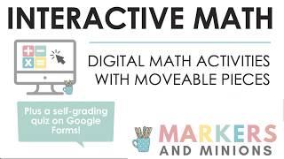 Digital Interactive Math Slides | New Resource Launch!